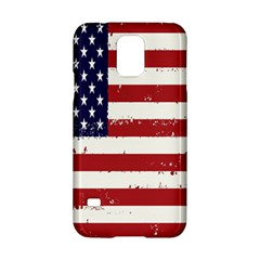 Flag United States United States Of America Stripes Red White Samsung Galaxy S5 Hardshell Case  by Simbadda