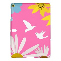 Spring Flower Floral Sunflower Bird Animals White Yellow Pink Blue Samsung Galaxy Tab S (10 5 ) Hardshell Case  by Alisyart