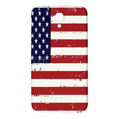 Flag United States United States Of America Stripes Red White Samsung Galaxy Mega I9200 Hardshell Back Case by Simbadda