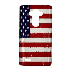 Flag United States United States Of America Stripes Red White Lg G4 Hardshell Case by Simbadda
