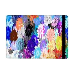 Flowers Colorful Drawing Oil Apple Ipad Mini Flip Case by Simbadda