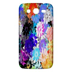Flowers Colorful Drawing Oil Samsung Galaxy Mega 5 8 I9152 Hardshell Case  by Simbadda