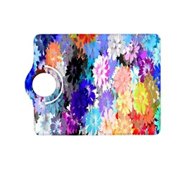 Flowers Colorful Drawing Oil Kindle Fire Hd (2013) Flip 360 Case by Simbadda