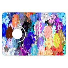 Flowers Colorful Drawing Oil Kindle Fire Hdx Flip 360 Case by Simbadda