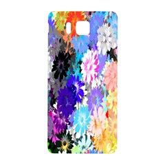 Flowers Colorful Drawing Oil Samsung Galaxy Alpha Hardshell Back Case by Simbadda