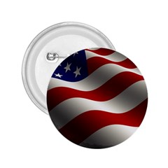 Flag United States Stars Stripes Symbol 2 25  Buttons by Simbadda