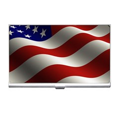 Flag United States Stars Stripes Symbol Business Card Holders by Simbadda