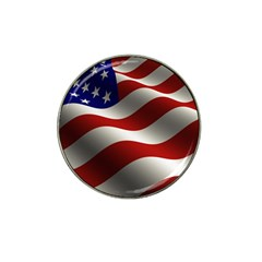 Flag United States Stars Stripes Symbol Hat Clip Ball Marker (10 Pack) by Simbadda
