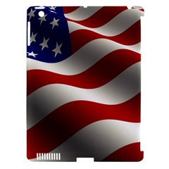 Flag United States Stars Stripes Symbol Apple Ipad 3/4 Hardshell Case (compatible With Smart Cover) by Simbadda