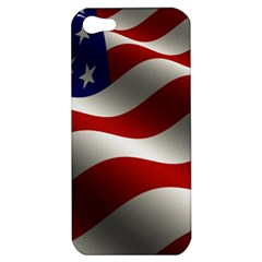Flag United States Stars Stripes Symbol Apple Iphone 5 Hardshell Case by Simbadda