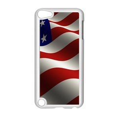 Flag United States Stars Stripes Symbol Apple Ipod Touch 5 Case (white) by Simbadda