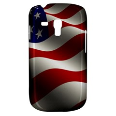 Flag United States Stars Stripes Symbol Galaxy S3 Mini by Simbadda