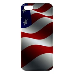Flag United States Stars Stripes Symbol Apple Iphone 5 Premium Hardshell Case by Simbadda