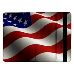 Flag United States Stars Stripes Symbol Samsung Galaxy Tab Pro 12 2  Flip Case by Simbadda