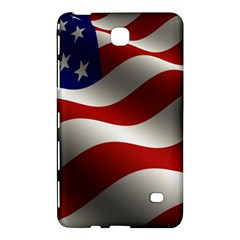Flag United States Stars Stripes Symbol Samsung Galaxy Tab 4 (7 ) Hardshell Case  by Simbadda