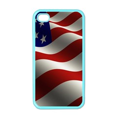 Flag United States Stars Stripes Symbol Apple Iphone 4 Case (color) by Simbadda