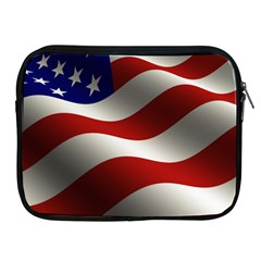 Flag United States Stars Stripes Symbol Apple Ipad 2/3/4 Zipper Cases by Simbadda