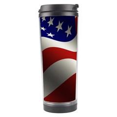 Flag United States Stars Stripes Symbol Travel Tumbler by Simbadda