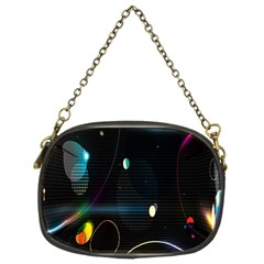 Glare Light Luster Circles Shapes Chain Purses (two Sides)  by Simbadda