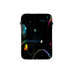 Glare Light Luster Circles Shapes Apple Ipad Mini Protective Soft Cases by Simbadda