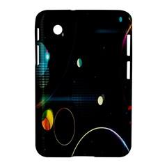 Glare Light Luster Circles Shapes Samsung Galaxy Tab 2 (7 ) P3100 Hardshell Case  by Simbadda