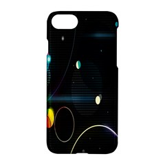 Glare Light Luster Circles Shapes Apple Iphone 7 Hardshell Case by Simbadda