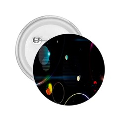 Glare Light Luster Circles Shapes 2 25  Buttons by Simbadda