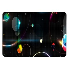 Glare Light Luster Circles Shapes Samsung Galaxy Tab 8 9  P7300 Flip Case by Simbadda