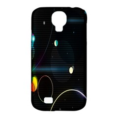 Glare Light Luster Circles Shapes Samsung Galaxy S4 Classic Hardshell Case (pc+silicone) by Simbadda