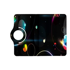 Glare Light Luster Circles Shapes Kindle Fire Hd (2013) Flip 360 Case by Simbadda