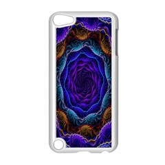 Flowers Dive Neon Light Patterns Apple Ipod Touch 5 Case (white) by Simbadda