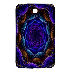 Flowers Dive Neon Light Patterns Samsung Galaxy Tab 3 (7 ) P3200 Hardshell Case  by Simbadda