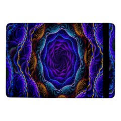 Flowers Dive Neon Light Patterns Samsung Galaxy Tab Pro 10 1  Flip Case by Simbadda