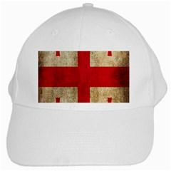 Georgia Flag Mud Texture Pattern Symbol Surface White Cap by Simbadda