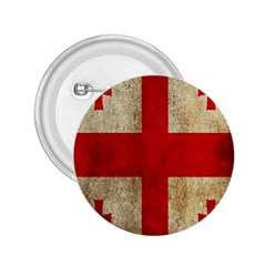 Georgia Flag Mud Texture Pattern Symbol Surface 2 25  Buttons by Simbadda