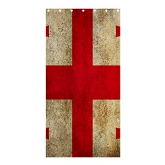 Georgia Flag Mud Texture Pattern Symbol Surface Shower Curtain 36  X 72  (stall)  by Simbadda