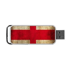 Georgia Flag Mud Texture Pattern Symbol Surface Portable Usb Flash (one Side) by Simbadda
