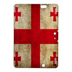 Georgia Flag Mud Texture Pattern Symbol Surface Kindle Fire Hdx 8 9  Hardshell Case by Simbadda