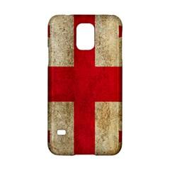 Georgia Flag Mud Texture Pattern Symbol Surface Samsung Galaxy S5 Hardshell Case  by Simbadda