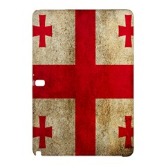 Georgia Flag Mud Texture Pattern Symbol Surface Samsung Galaxy Tab Pro 10 1 Hardshell Case