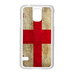 Georgia Flag Mud Texture Pattern Symbol Surface Samsung Galaxy S5 Case (white) by Simbadda