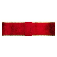 Georgia Flag Mud Texture Pattern Symbol Surface Satin Scarf (oblong) by Simbadda