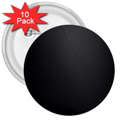 Leather Stitching Thread Perforation Perforated Leather Texture 3  Buttons (10 Pack)  by Simbadda