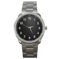Leather Stitching Thread Perforation Perforated Leather Texture Sport Metal Watch by Simbadda
