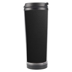 Leather Stitching Thread Perforation Perforated Leather Texture Travel Tumbler by Simbadda