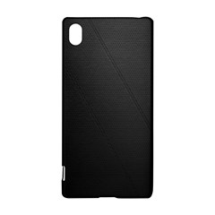Leather Stitching Thread Perforation Perforated Leather Texture Sony Xperia Z3+ by Simbadda