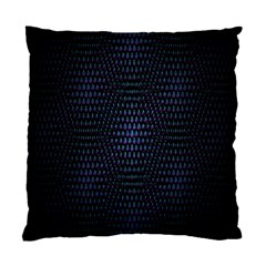 Hexagonal White Dark Mesh Standard Cushion Case (two Sides) by Simbadda