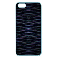 Hexagonal White Dark Mesh Apple Seamless Iphone 5 Case (color) by Simbadda