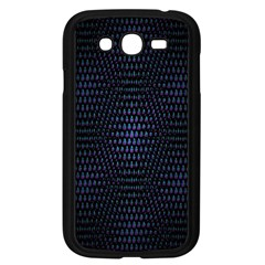 Hexagonal White Dark Mesh Samsung Galaxy Grand Duos I9082 Case (black) by Simbadda