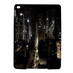 New York United States Of America Night Top View Ipad Air 2 Hardshell Cases by Simbadda